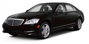 New York City, NYC Luxury Sedan Car Mercedes Benz S class 500 chauffeured rental, hire with a driver